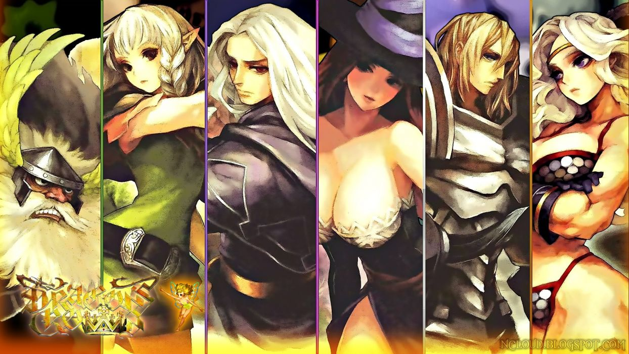 DRAGONS-CROWN anime action rpg fantasy family medieval fighting dragons crown (36) wallpaper