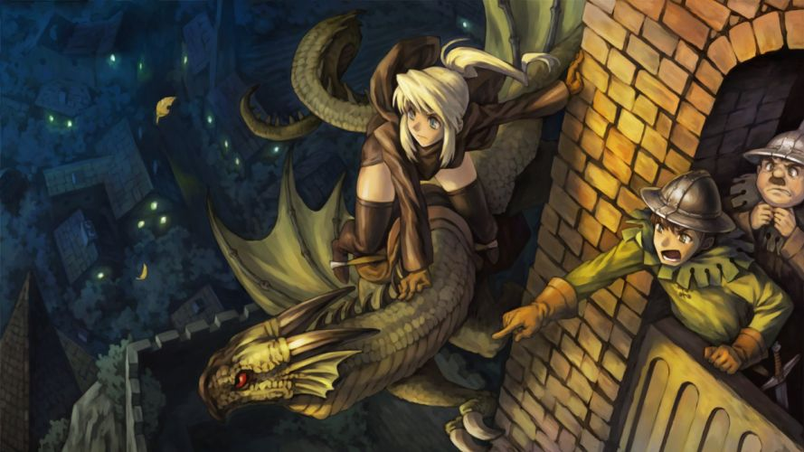 DRAGONS-CROWN anime action rpg fantasy family medieval fighting dragons crown (57) wallpaper
