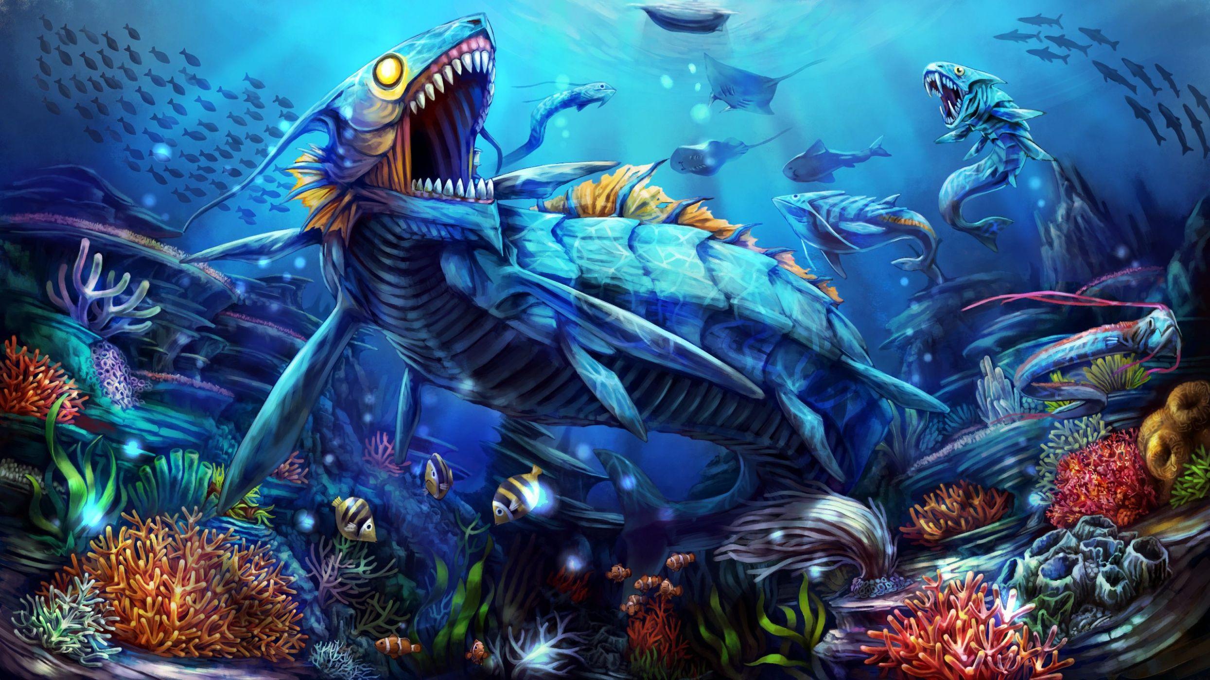 фэнтези картинки рыбы существует несколько