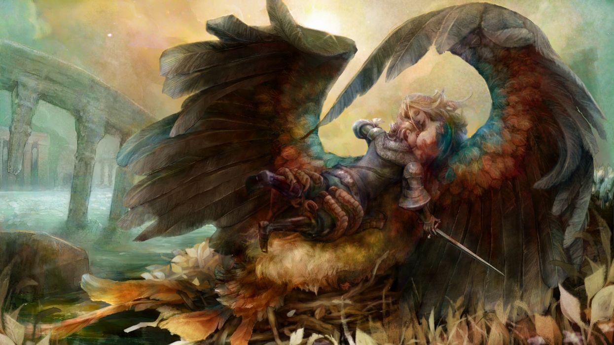 DRAGONS-CROWN anime action rpg fantasy family medieval fighting dragons crown (64) wallpaper
