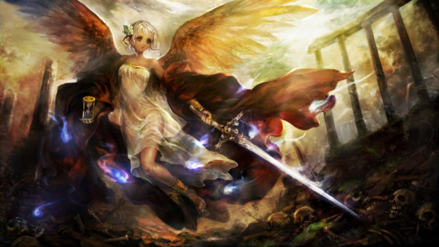 DRAGONS-CROWN anime action rpg fantasy family medieval fighting dragons crown (71) wallpaper