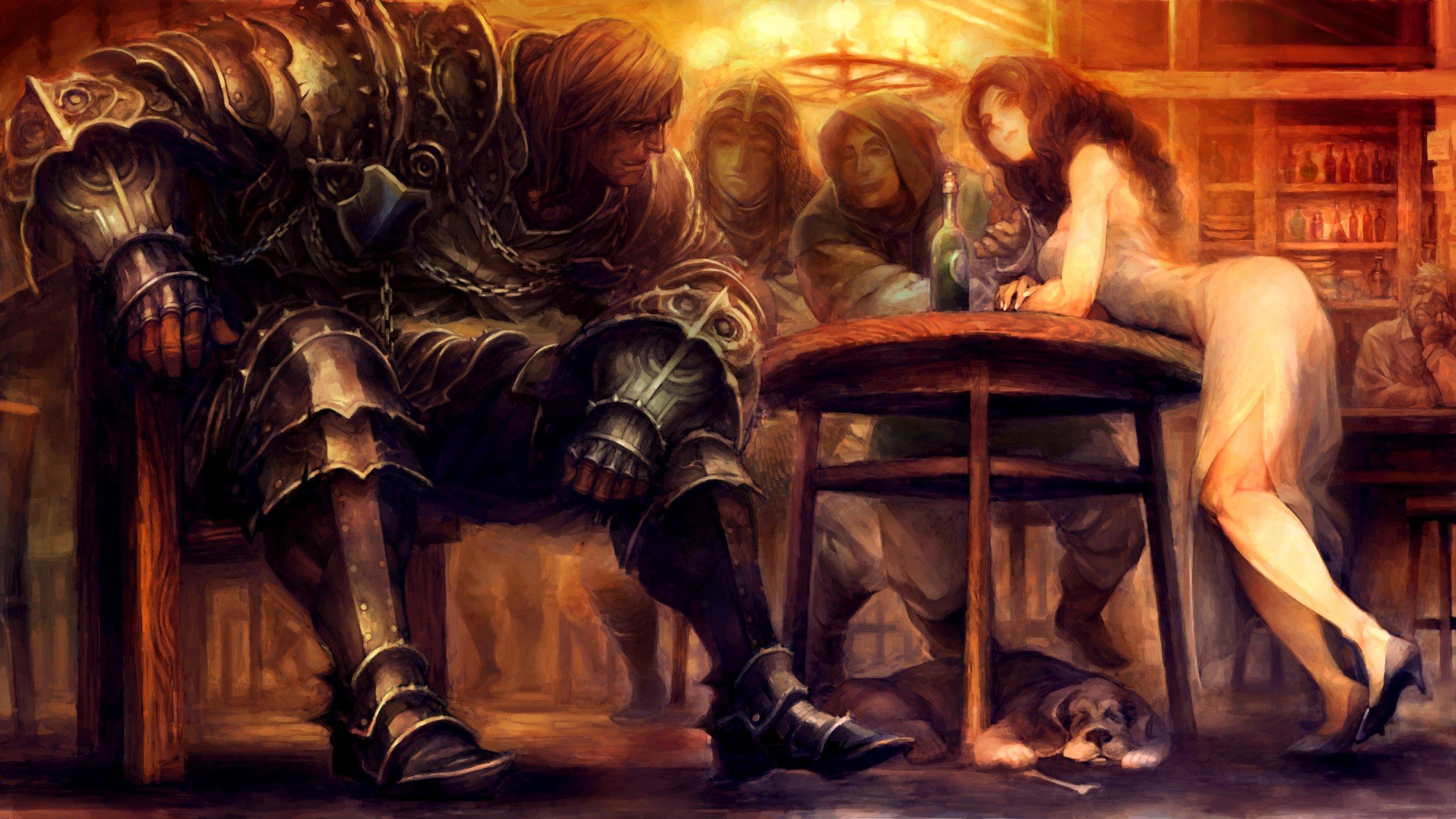 Rpg Fantasy Family Medieval Fighting Dragons Crown 74 Wallpaper