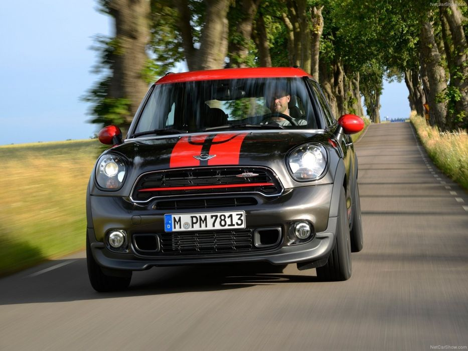 1600x1200 2015 black britain cooper countryman Great john Mini works wallpaper