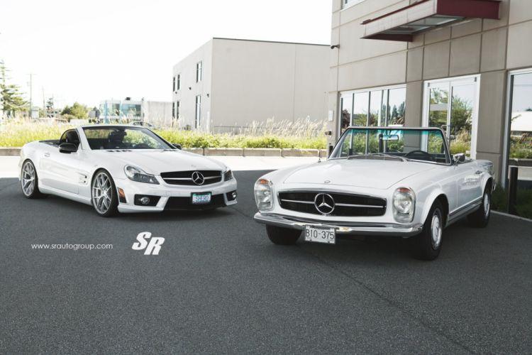 Mercedes SL white SR Auto Group wallpaper