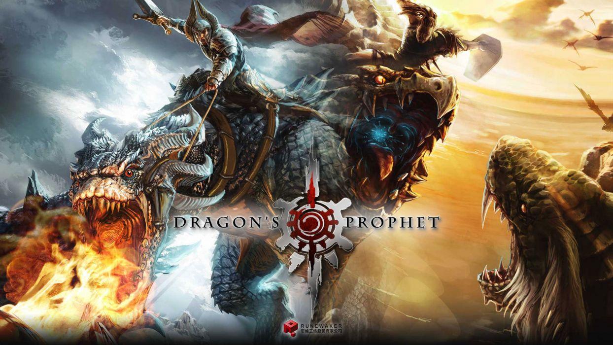 DRAGONS-PROPHET fantasy mmo dragon online rpg action dragons prophet (9) wallpaper
