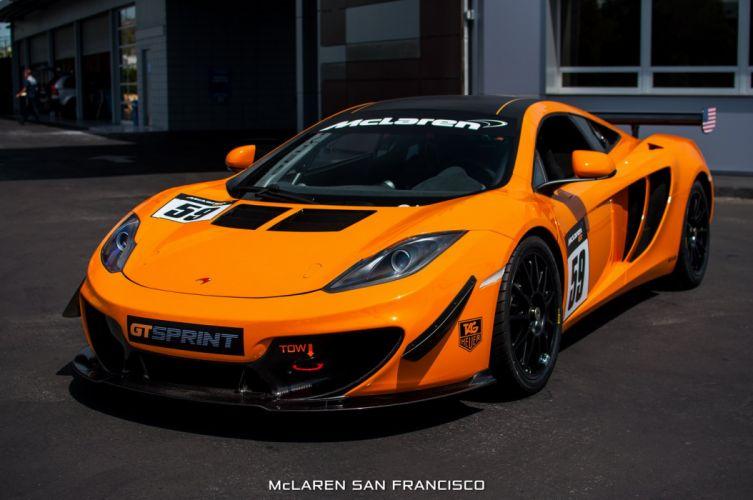 12c 2013 g t McLaren sprint Supercar supercars wallpaper