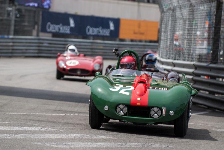 Race Car Supercar Racing Classic Retro 1954 Lister Bristol 4000x2677 wallpaper