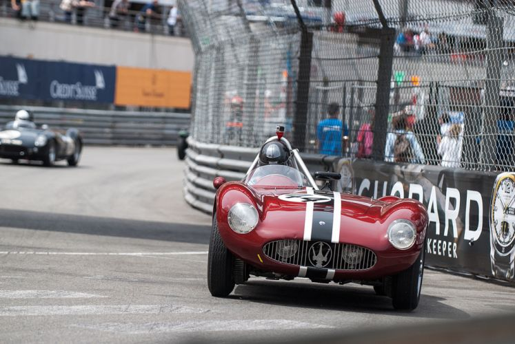 Race Car Supercar Racing Classic Retro 1955 Maserati 300S 4 4000x2677 wallpaper