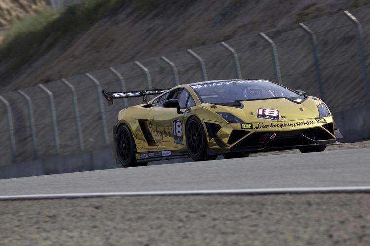 Race Car Supercar Racing Lamborghini Miami DragonSpeed Lamborghini Gallardo LP570-4 Super Trofeo 4000x2667 wallpaper