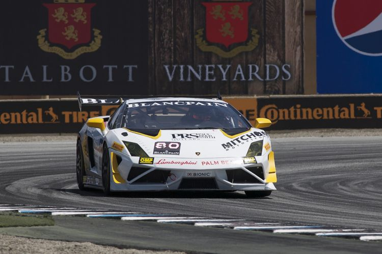 Race Car Supercar Racing Lamborghini Palm Beach Mitchum Motorsports Lamborghini Gallardo LP570-4 Super Trofeo 4000x2667 wallpaper