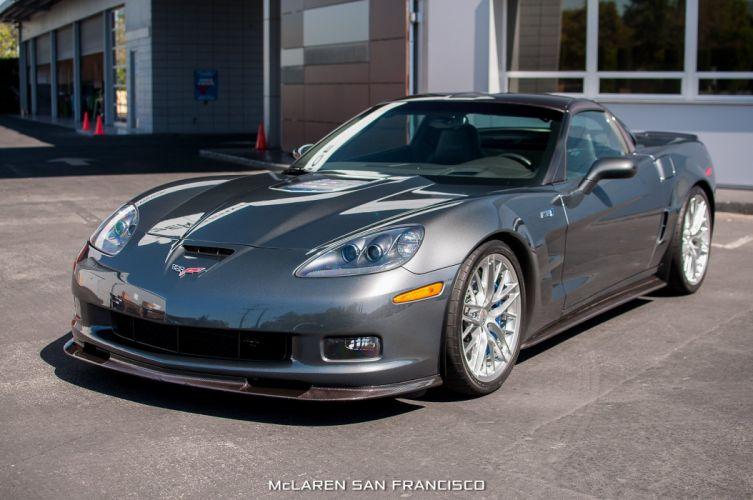 2009 Chevrolet Corvette muscle Supercar supercars zr1 wallpaper