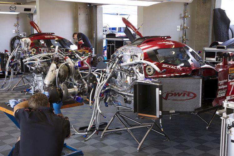 Race Car Supercar Racing SpeedSource Mazda Prototype 5 4000x2667 wallpaper
