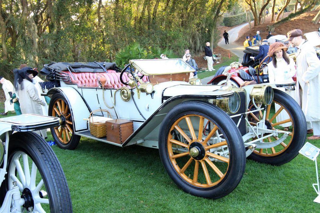 1913 American Underslung Touring Car Vehicle Classic Retro 1536x1024 (1) wallpaper