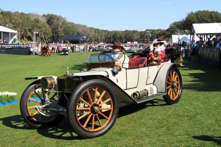 1913 American Underslung Touring Car Vehicle Classic Retro 1536x1024 (2) wallpaper