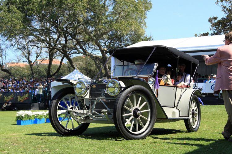 1913 American Underslung Touring Car Vehicle Classic Retro 1536x1024 (8) wallpaper