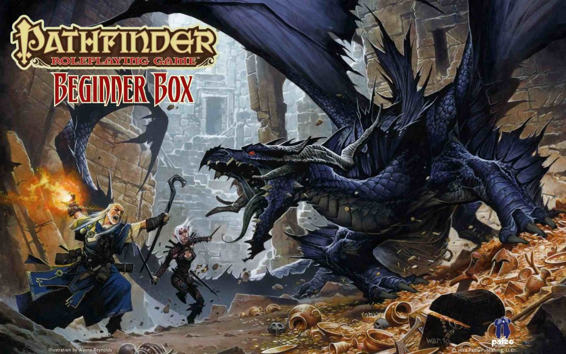 Pathfinder Rpg Fantasy Dragon Board 8 Wallpaper