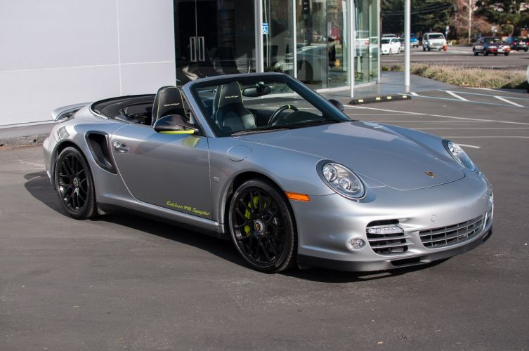 2012 Porsche 911 Turbo S Edition 918 Spyder wallpaper