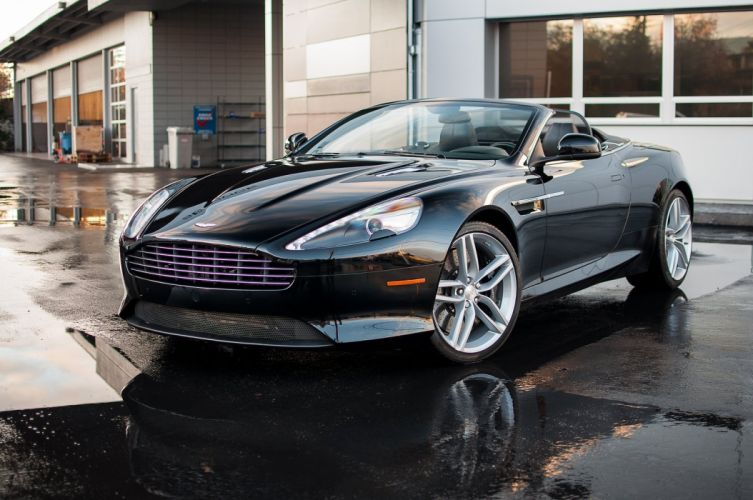 2012 Aston cars Martin virage volante wallpaper