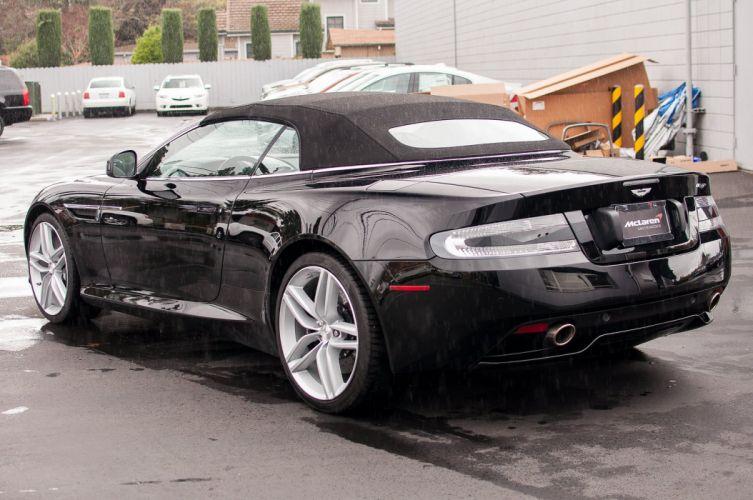 2012 Aston cars Martin virage volante wallpaper