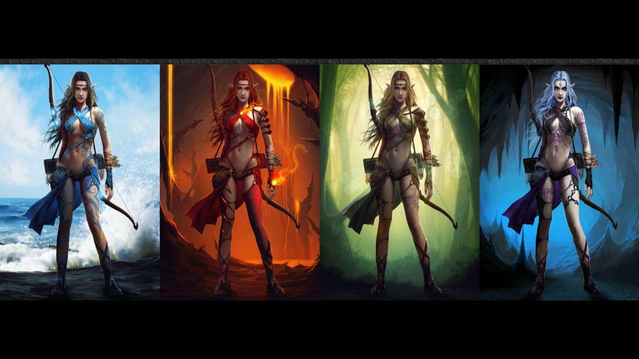 HELLFIRE fantasy arcade action scrolling android adventure wallpaper