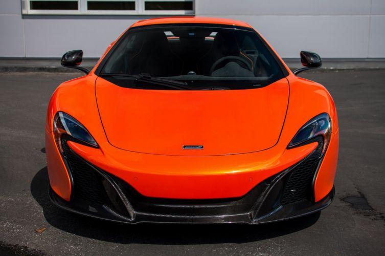 2015 650s car McLaren Orange Tarocco spider Supercar vehicle wallpaper wallpaper