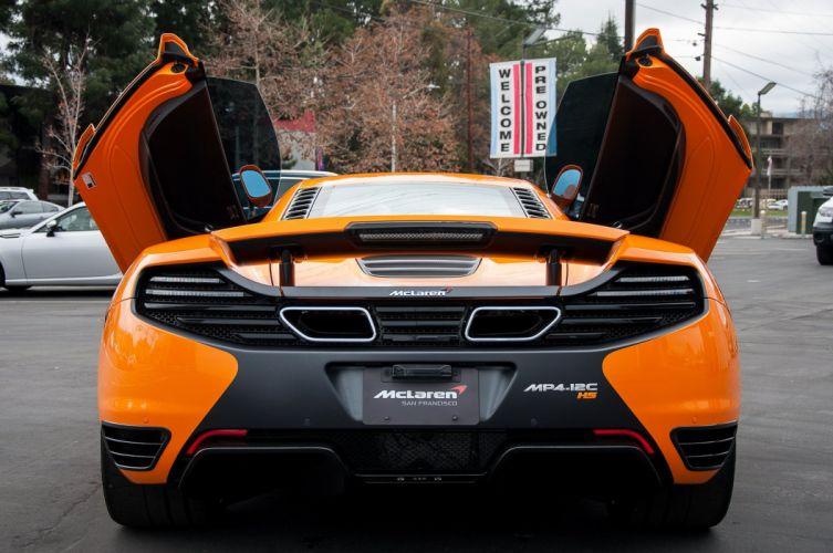 McLaren mp4 12c HS 220 Orange Supercar wallpaper