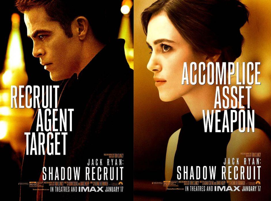 JACK RYAN SHADOW RECRUIT action mystery thriller crime (19) wallpaper