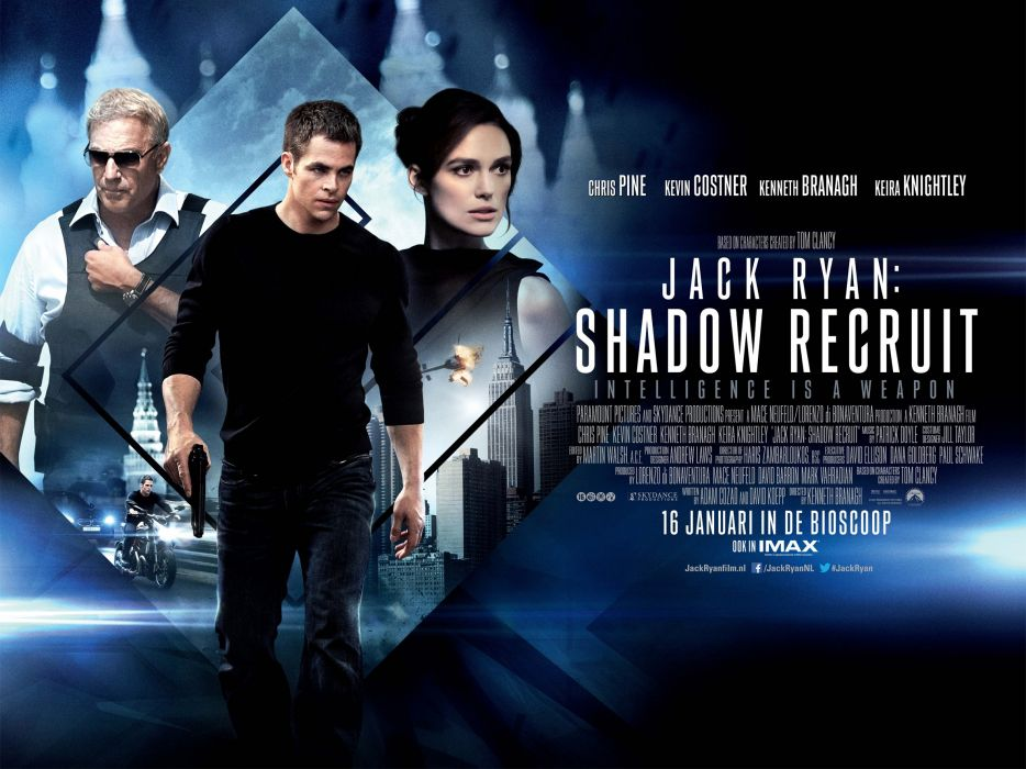 JACK RYAN SHADOW RECRUIT action mystery thriller crime (55) wallpaper
