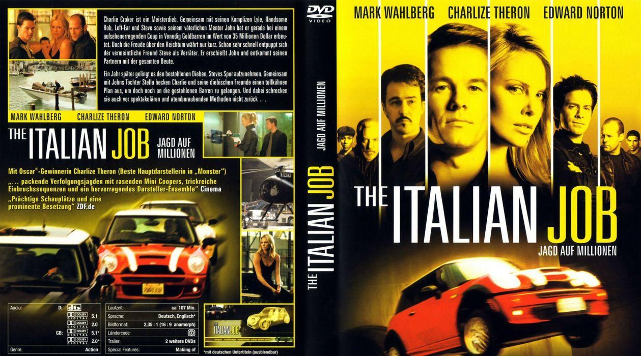 ITALIAN-JOB action crime thriller italian job (8) wallpaper