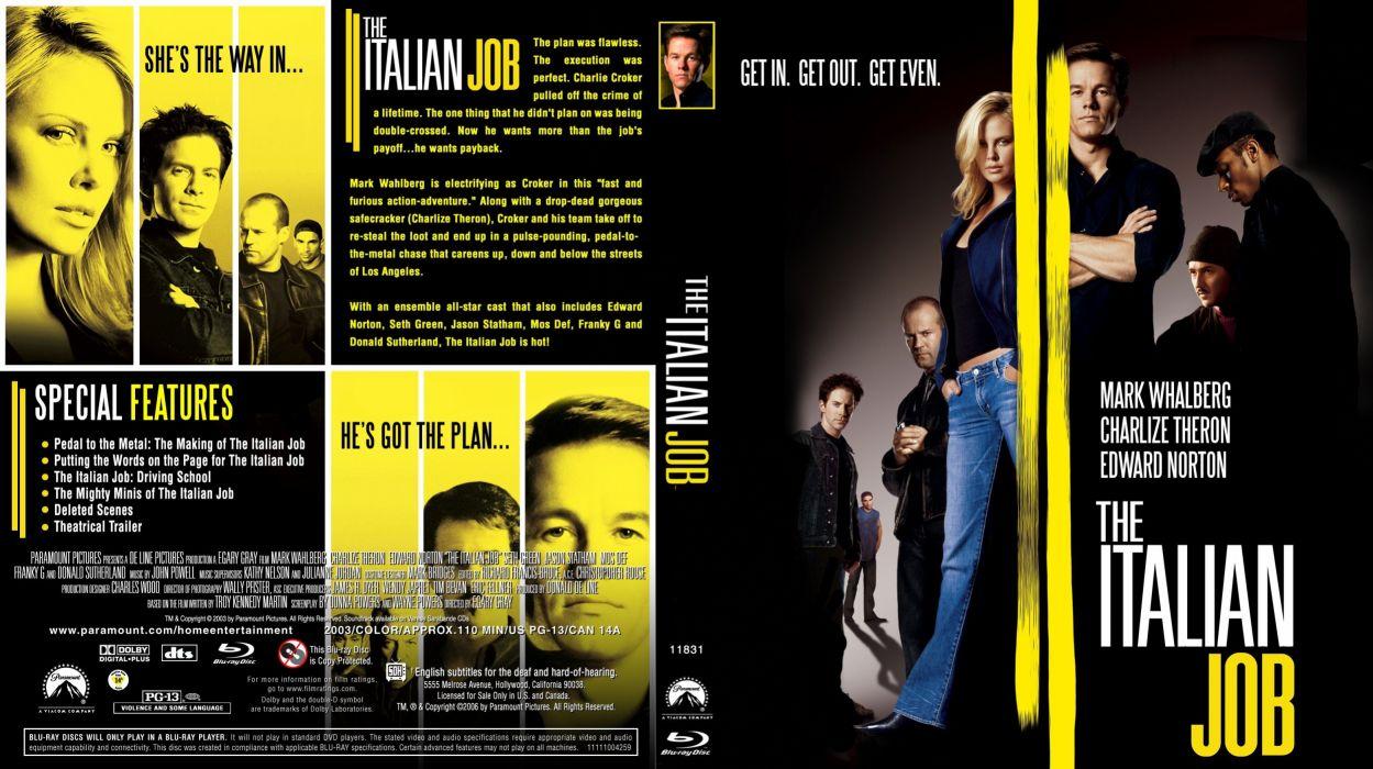 ITALIAN-JOB action crime thriller italian job (13) wallpaper