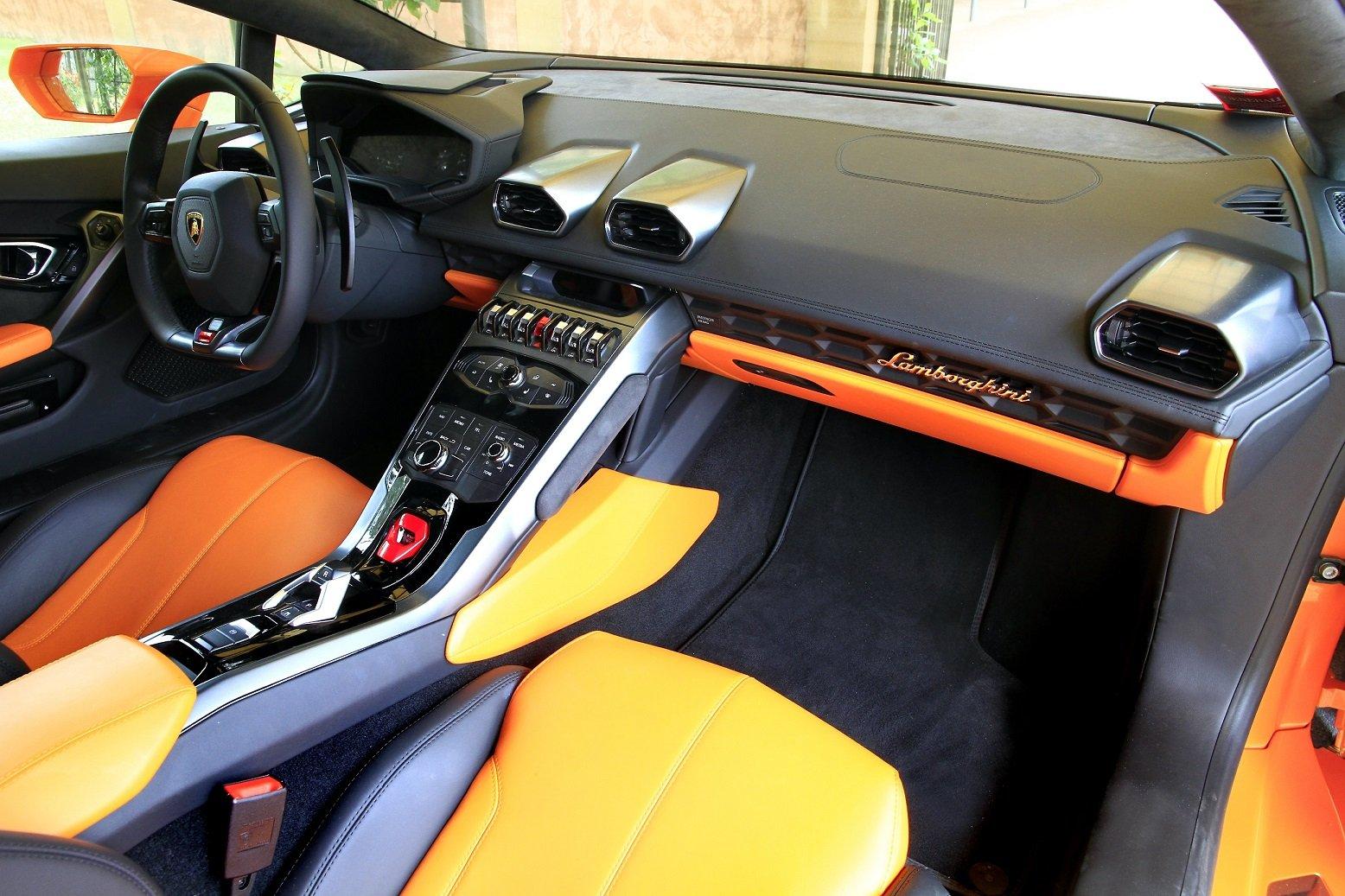 2014 610 4 huracan lamborghini lb724 orange supercar wallpaper 1556x1037 390006 wallpaperup - Lamborghini Huracan Orange Interior