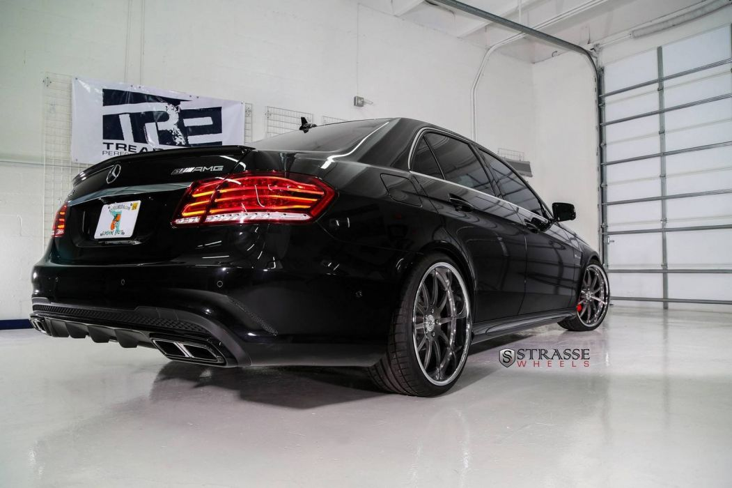 2014 amg benz e63 Mercedes Tuning Strasse wheels wallpaper