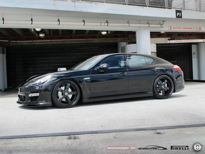 2014 panamera Porsche HRE Wheels Tuning Turbo wallpaper