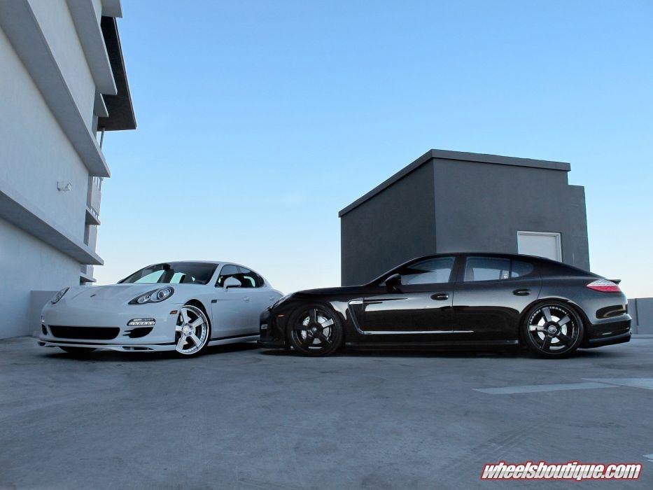 2014 hre panamera Porsche Tuning Turbo wheels wallpaper
