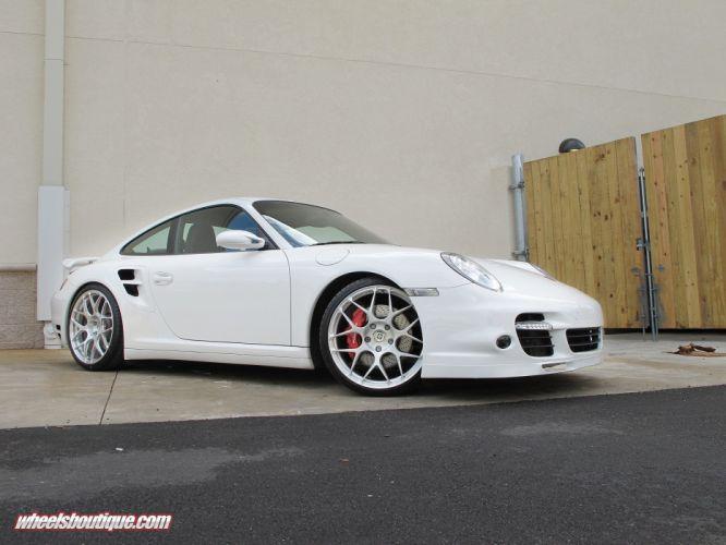 911 997 Porsche Turbo HRE Whells supercar tuning wallpaper