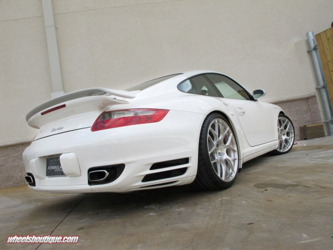 911 997 Porsche Turbo HRE Whells supercar tuning wallpaper