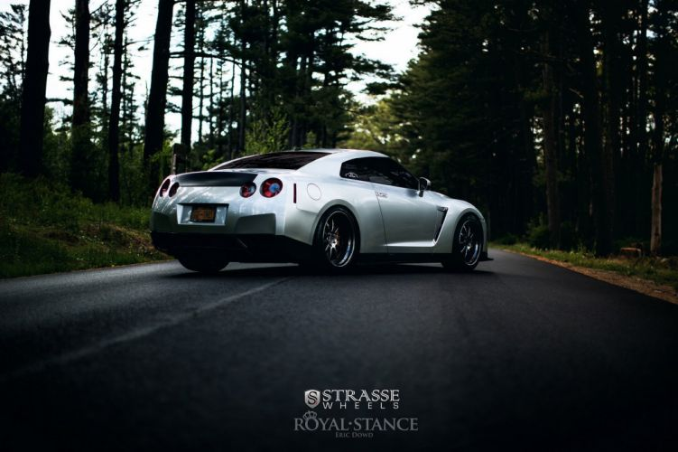 Nissan gtr strasse wheels tuning wallpaper