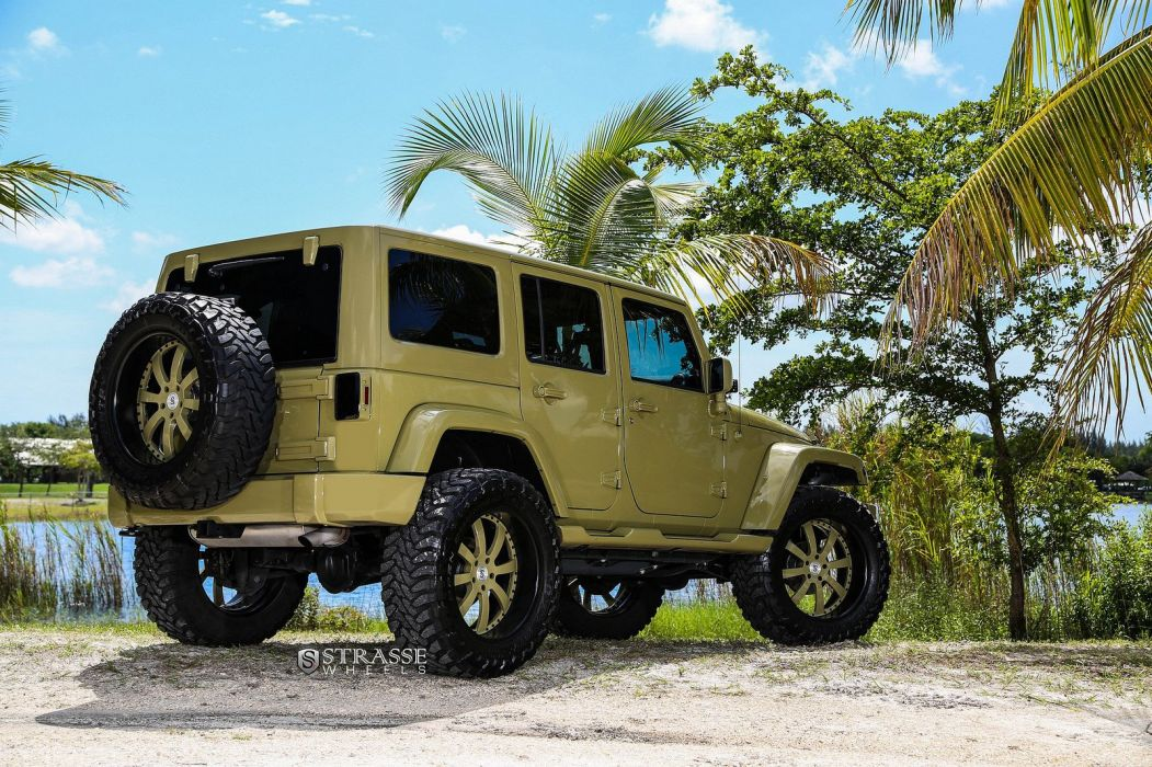 Jeep Sahara Strasse Wheels tuning wallpaper