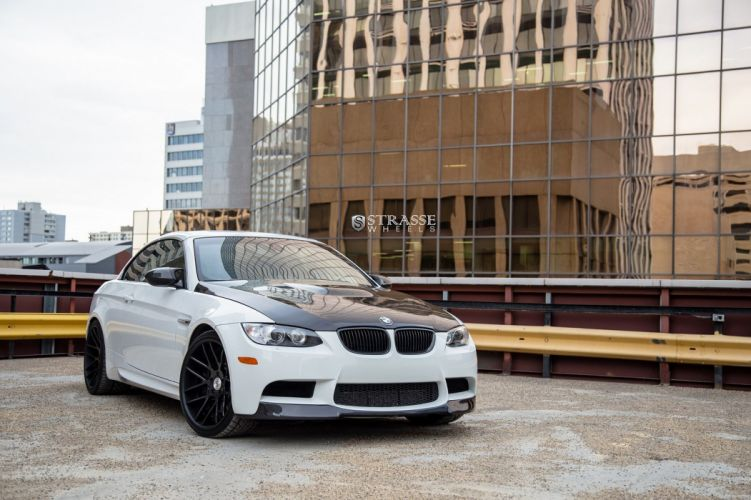 BMW e92 strasse Tuning wheels convertible m3 wallpaper