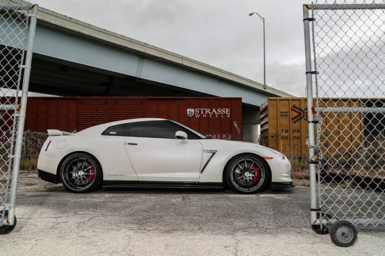GTR Nissan strasse Tuning wheels wallpaper