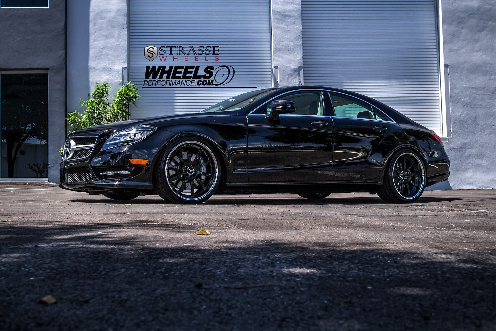 Mercedes CLS550 Strasse Wheels tuning cars black wallpaper ...