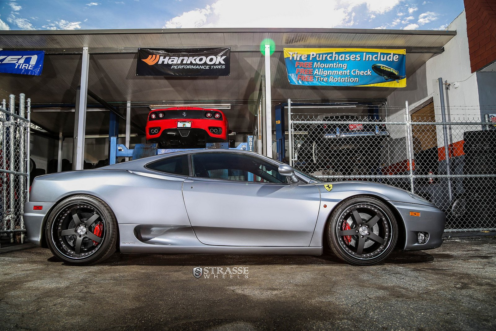 Ferrari 360 Modena Strasse Wheels Tuning Cars Grey Wallpaper 1600x1066 390187 Wallpaperup