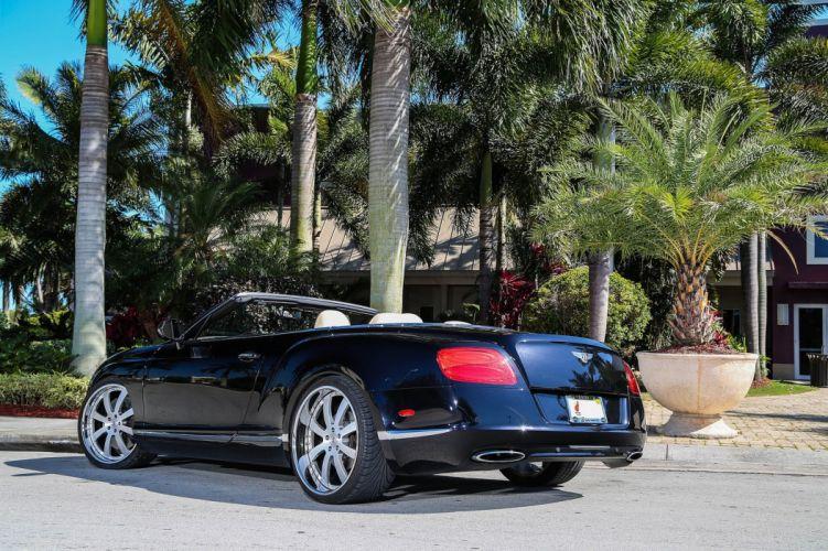 Bentley GTC Strasse Wheels tuning cars black wallpaper