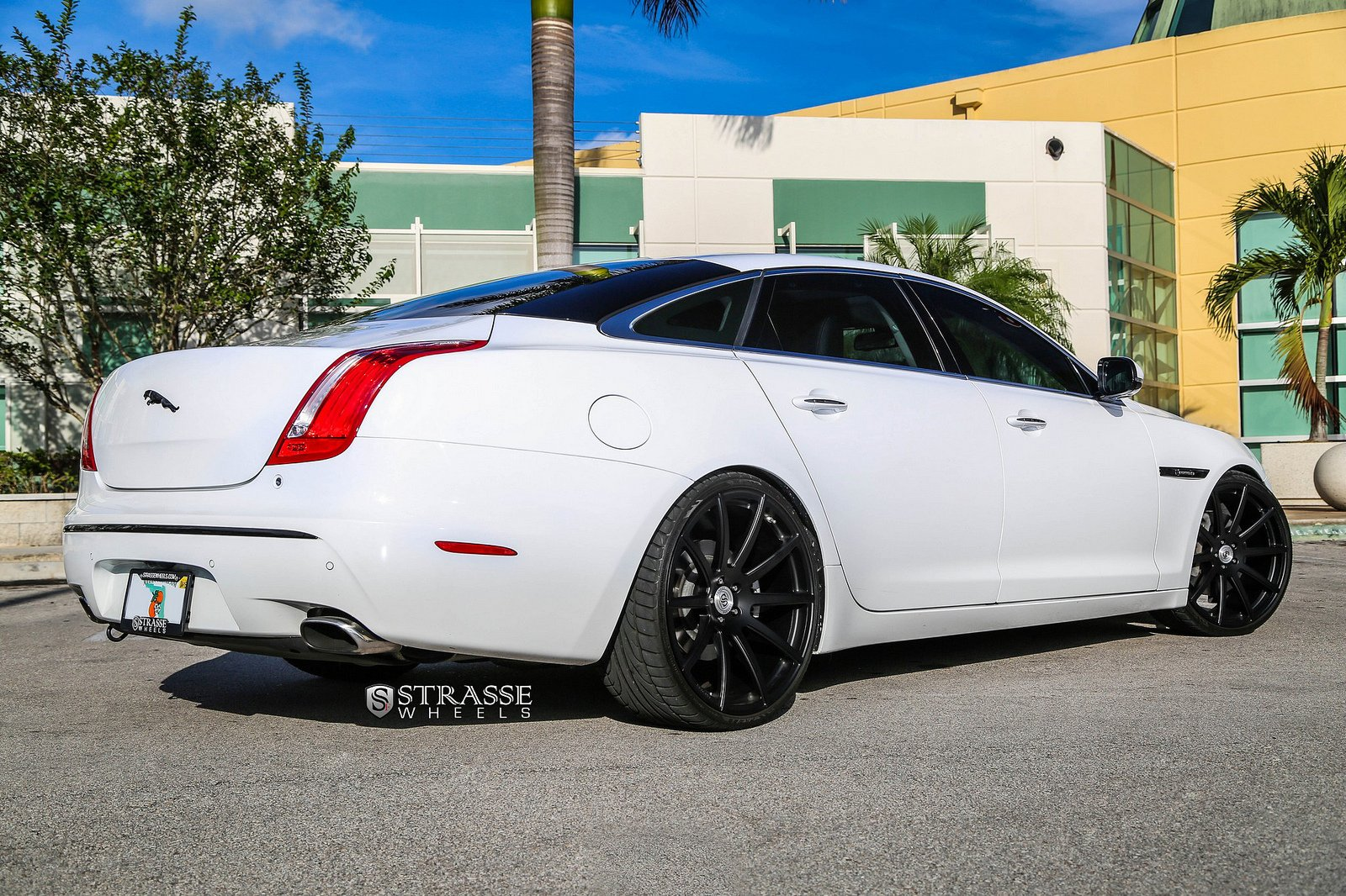 Jaguar Xjl Strasse Wheels Tuning Cars White Wallpaper 1600x1066 390218 Wallpaperup