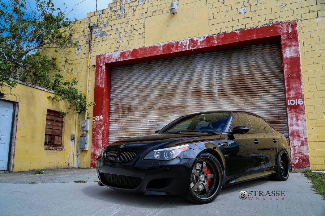 E60 BMW M5 Strasse Wheels tuning cars wallpaper