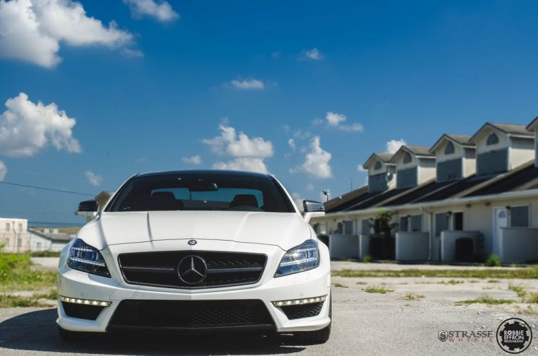 Mercedes CLS63 AMG Strasse Wheels tuning cars wallpaper