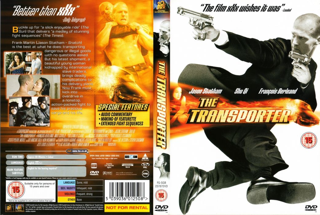 TRANSPORTER action crime thriller (56) wallpaper
