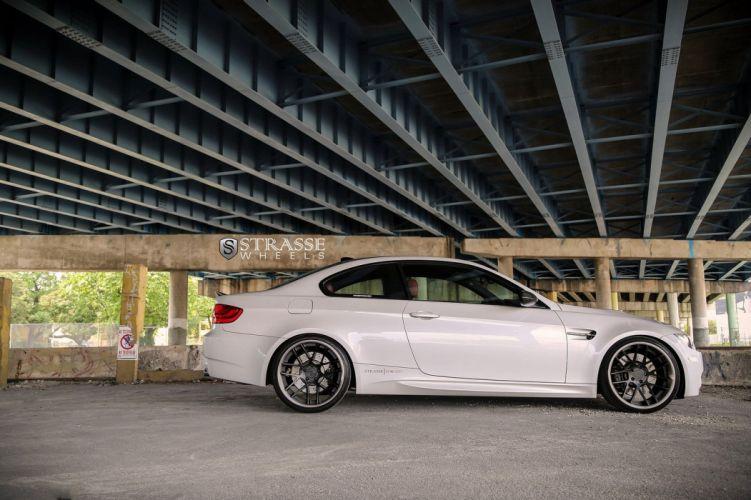 BMW e92 strasse Tuning wheels M3 wallpaper