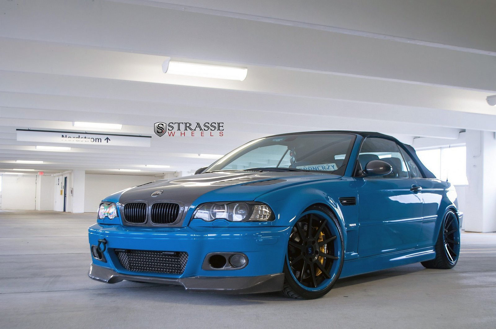 bmw e46 m3 convertible blue strasse tuning wheels wallpaper 1600x1063 390367 wallpaperup. Black Bedroom Furniture Sets. Home Design Ideas