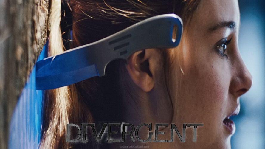 DIVERGENT adventure romance sci-fi action (9) wallpaper